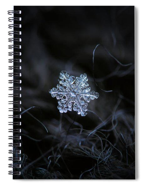 Real Snowflake - 2017-12-07 1 Spiral Notebook