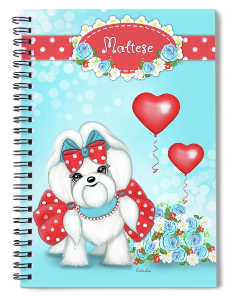 Welcome With Love  Spiral Notebook