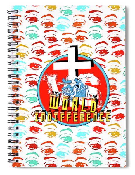 Indifference Spiral Notebook
