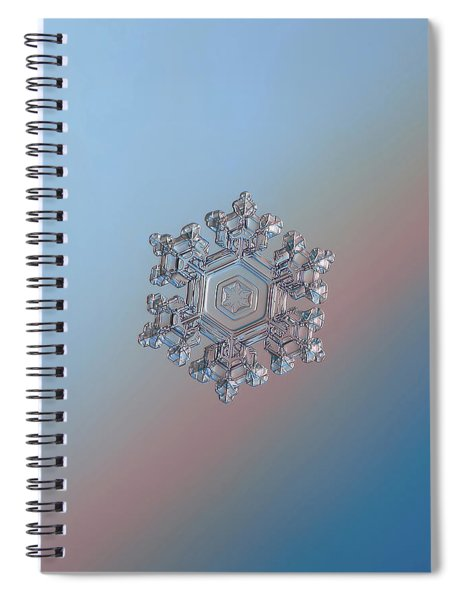 Real Snowflake - 05-feb-2018 - 1 Spiral Notebook