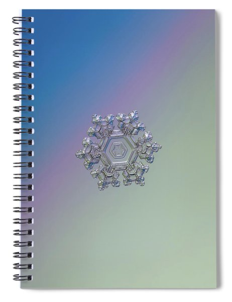 Real Snowflake - 05-feb-2018 - 1 Alt Spiral Notebook