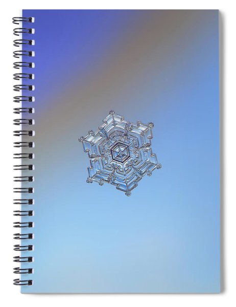 Real Snowflake - 05-feb-2018 - 2 Spiral Notebook