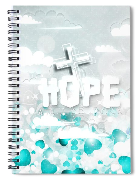 A Heart For Jesus Spiral Notebook