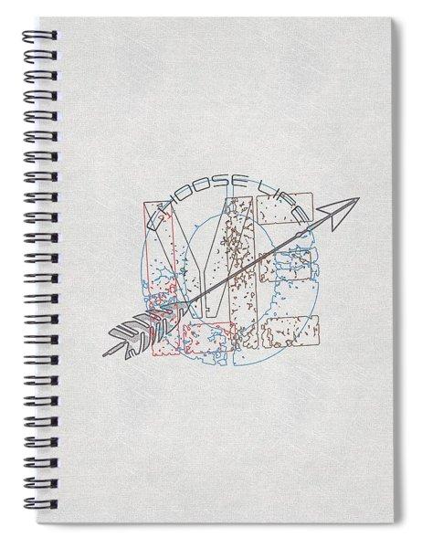 Choose Life Spiral Notebook
