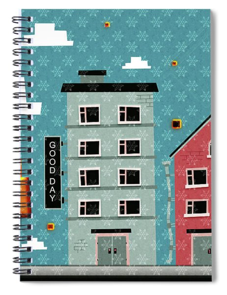 My Home My God Spiral Notebook