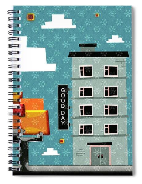 My Home My God Spiral Notebook