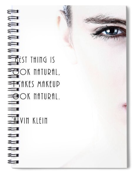 Look Natural Spiral Notebook