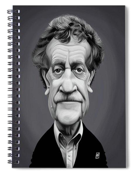 Celebrity Sunday - Kurt Vonnegut Spiral Notebook