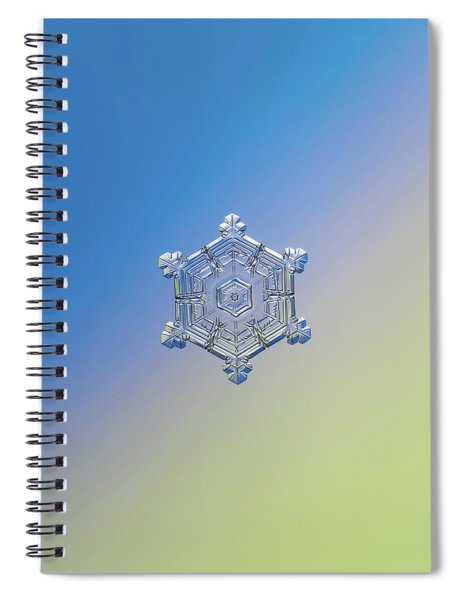 Real Snowflake - 05-feb-2018 - 4 Alt Spiral Notebook