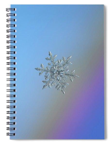 Real Snowflake - 21-feb-2018 - 1 Spiral Notebook
