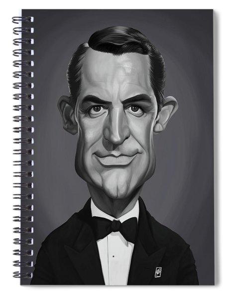 Celebrity Sunday - Cary Grant Spiral Notebook