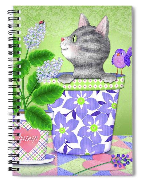 Cat Love Spiral Notebook