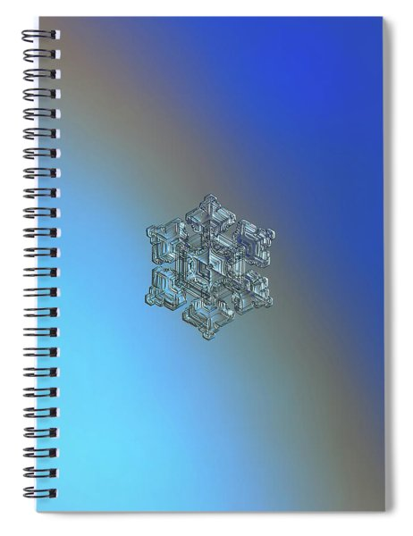 Real Snowflake - 05-feb-2018 - 5 Spiral Notebook