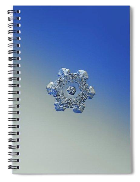 Real Snowflake - 05-feb-2018 - 6 Alt Spiral Notebook