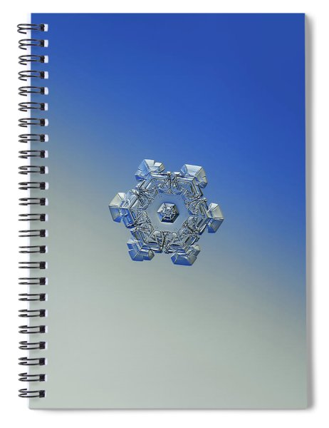 Real Snowflake - 05-feb-2018 - 6 Alt Spiral Notebook