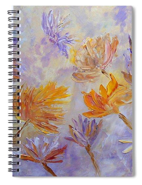Purple Blaze Spiral Notebook