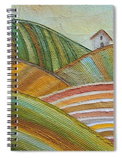 Plowing Through Spiral Notebook
