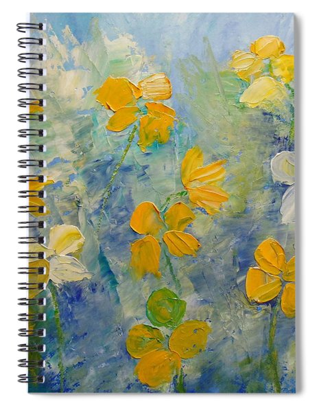 Blossoms In Breeze Spiral Notebook