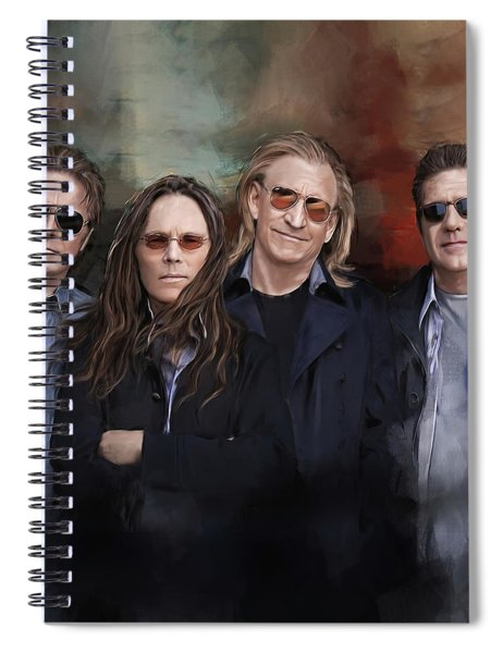 Eagles Band Spiral Notebook