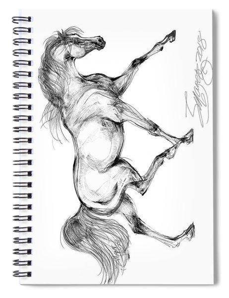 Endurance Horse Spiral Notebook