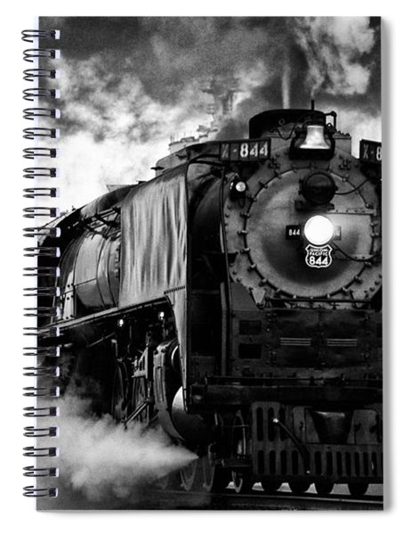 Up 844 Steaming It Up Spiral Notebook