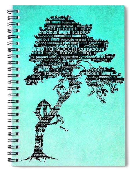 Bodhi Tree Of Awareness Spiral Notebook