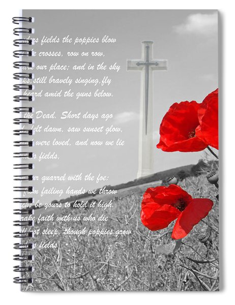 In Flanders Fields Spiral Notebook