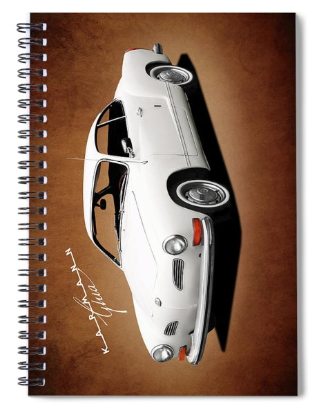 Vw Karmann Ghia Spiral Notebook