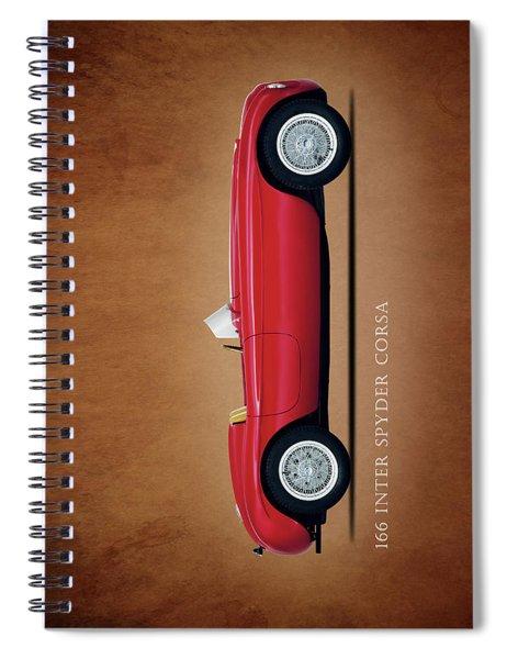 Ferrari 166 Inter Spyder Spiral Notebook
