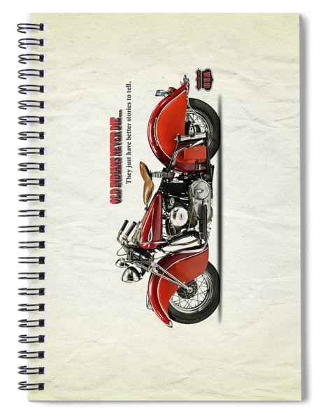 Old Indians Never Die Spiral Notebook