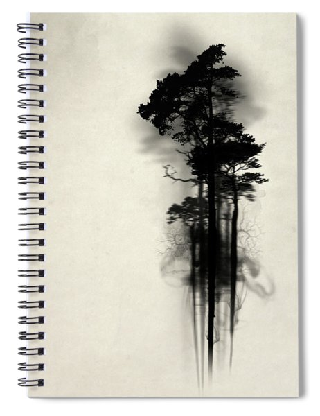 Enchanted Forest Spiral Notebook by Nicklas Gustafsson