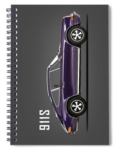 Porsche 911 Spiral Notebook