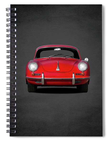 Porsche 356 Spiral Notebook
