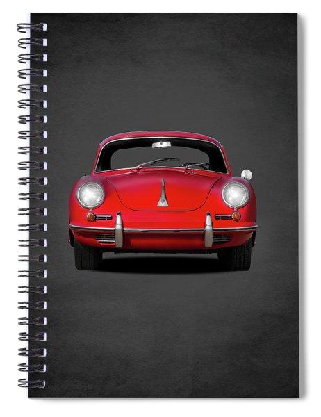 Porsche 356 Spiral Notebook by Mark Rogan