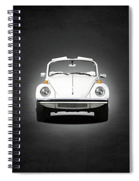 Volkswagen Beetle Spiral Notebook