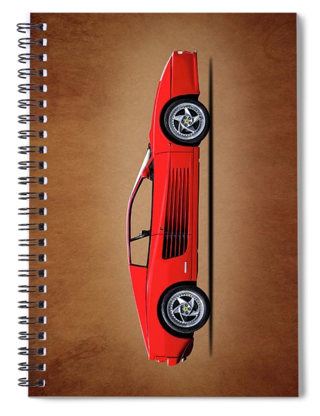 Ferrari Testarossa Spiral Notebook