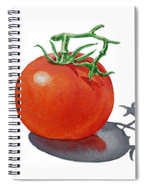 Artz Vitamins Tomato Spiral Notebook