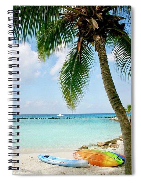 Aruban Oasis Spiral Notebook