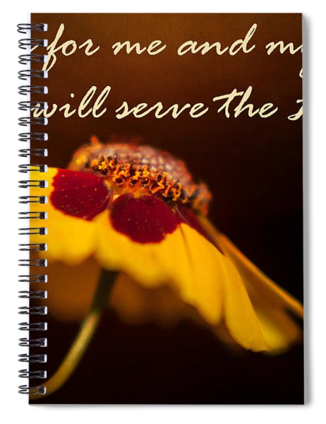As For Me And My House Spiral Notebook