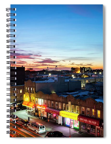 As Night Falls Spiral Notebook