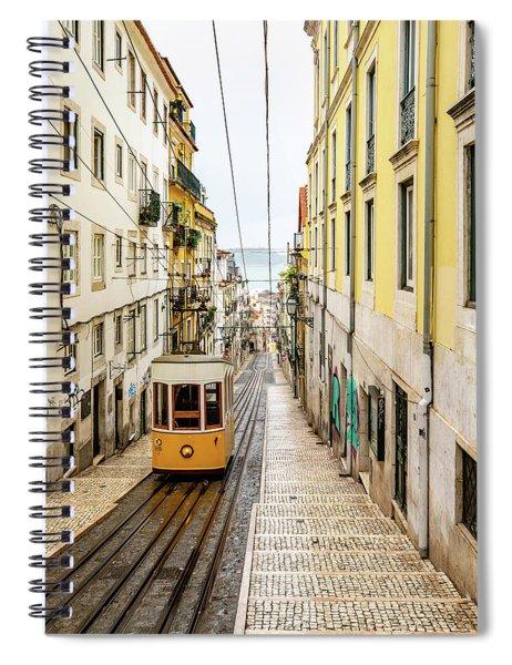 Ascensor De Bica Spiral Notebook