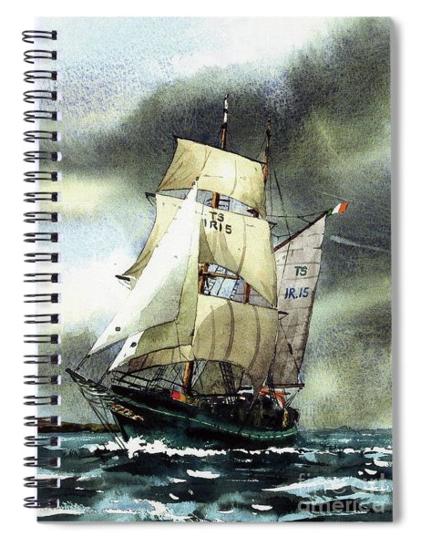 F  758  Asgard 11 Often Sailed Along The Wild Atlantic Way Spiral Notebook