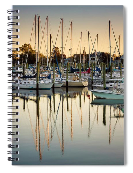Ash Creek Marina Spiral Notebook