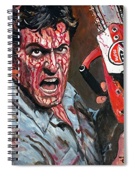 Ash Spiral Notebook