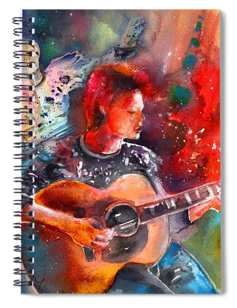 Ashes To Ashes In Space Oddity Spiral Notebook