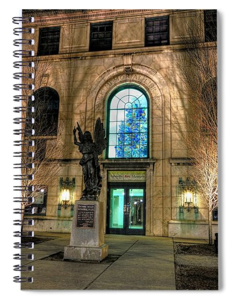 Asheville Art Museum Spiral Notebook