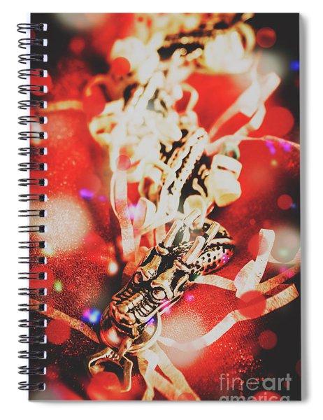 Asian Dragon Festival Spiral Notebook