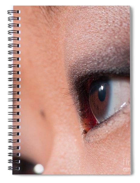 Asian Girl Eyes 1283053 Spiral Notebook