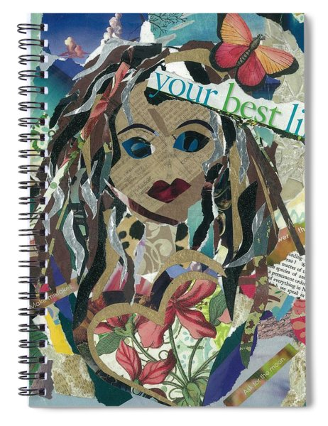 Ask For The Moon Spiral Notebook