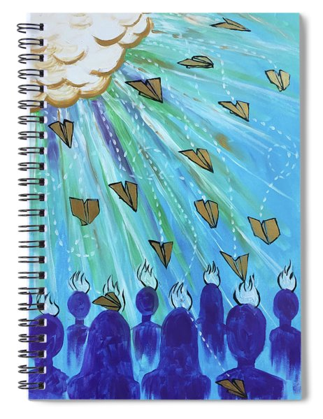 Ask Of Me Spiral Notebook